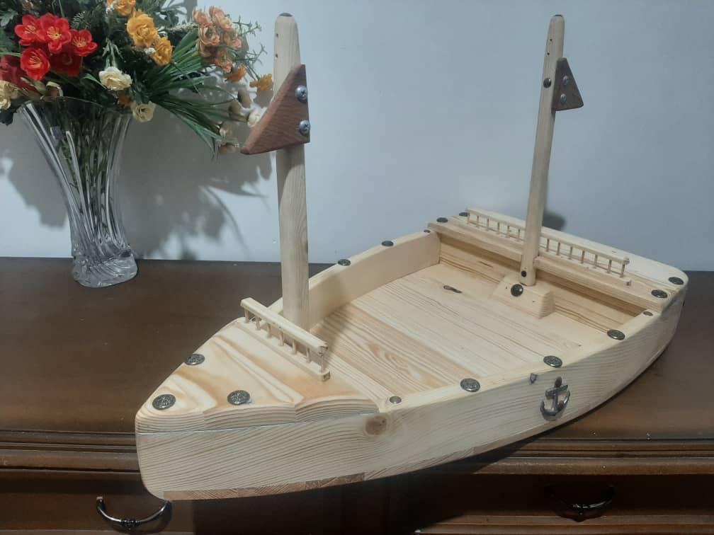 دیس سوشی چوبی